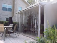 Drop Curtains & Solar Screens