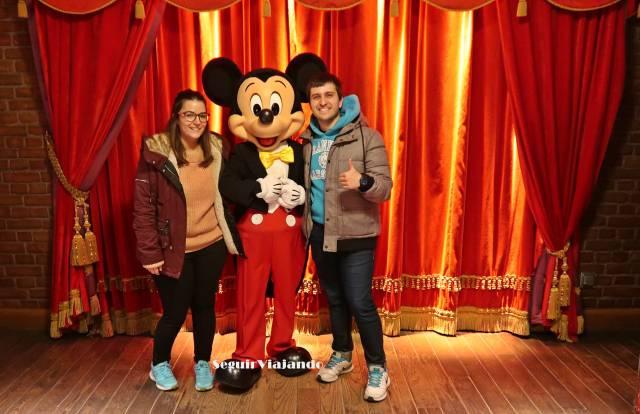Foto con Mickey