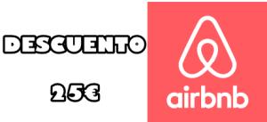 Descuento 25 euros Airbnb
