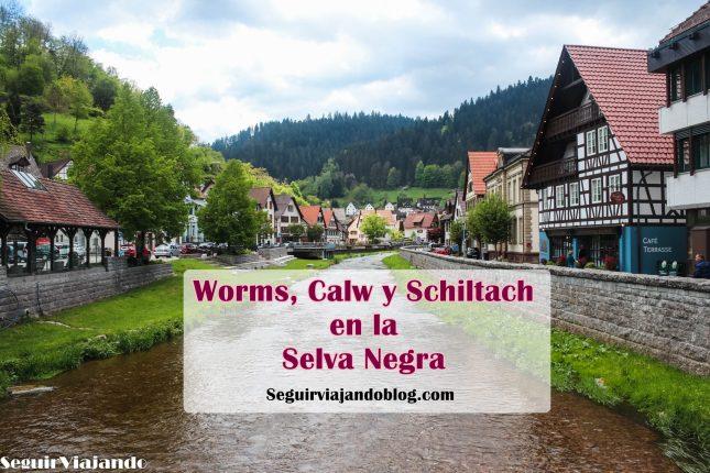 Qué ver en la Selva Negra - Worms, Calw, Schiltach - Seguir Viajando