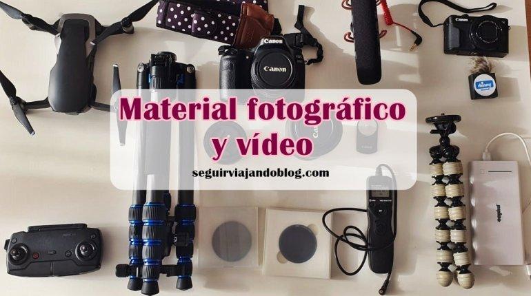 Material fotográfico y vídeo - Seguir Viajando