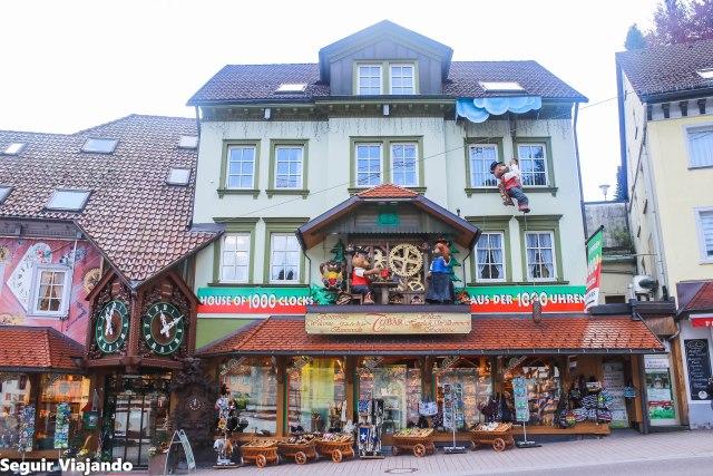 La tienda de los mil relojes de cuco - Triberg