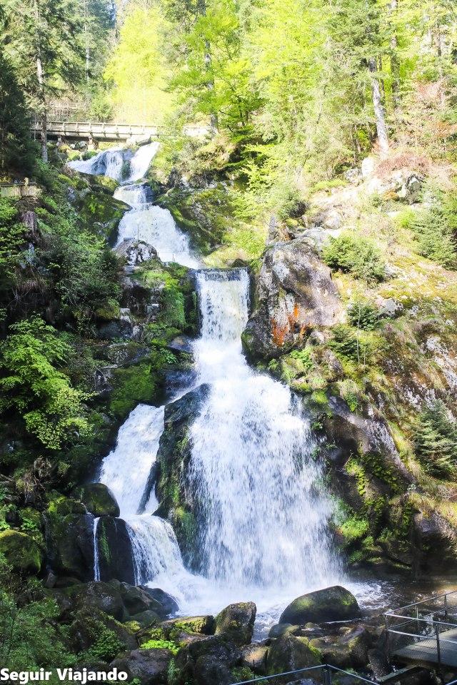 Waterfälle Triberg, cascadas