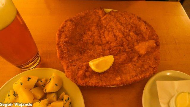 Schnitzel Viena - Seguir Viajando