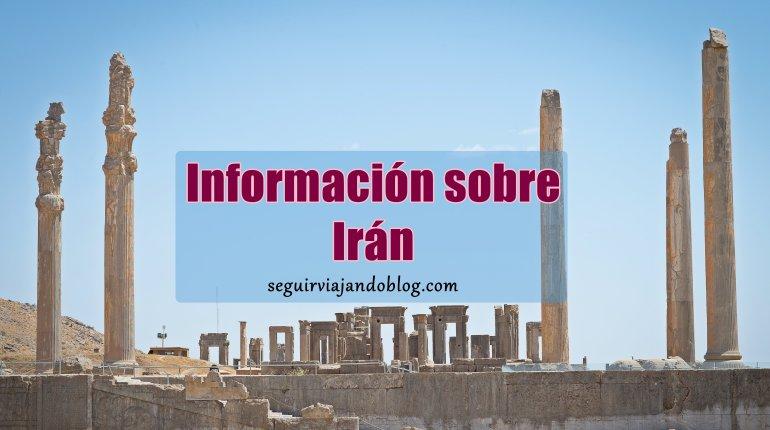 Información Irán - Persépolis