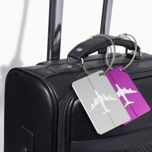 Regalos viajeros: etiqueta identificadora de maleta - Seguir Viajando