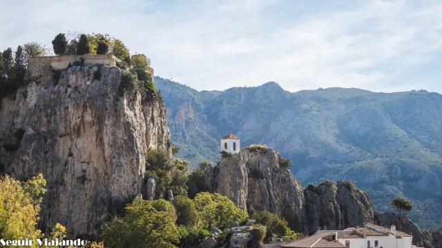 Campanario Castell de Guadalest - ruta por la Costa Blanca - Seguir Viajando