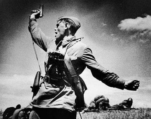 soldados del Ejército Rojo