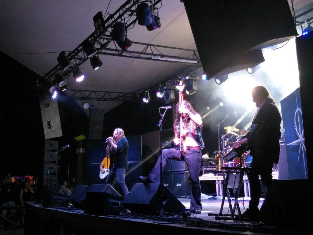 Imagem do show do Stratovarius