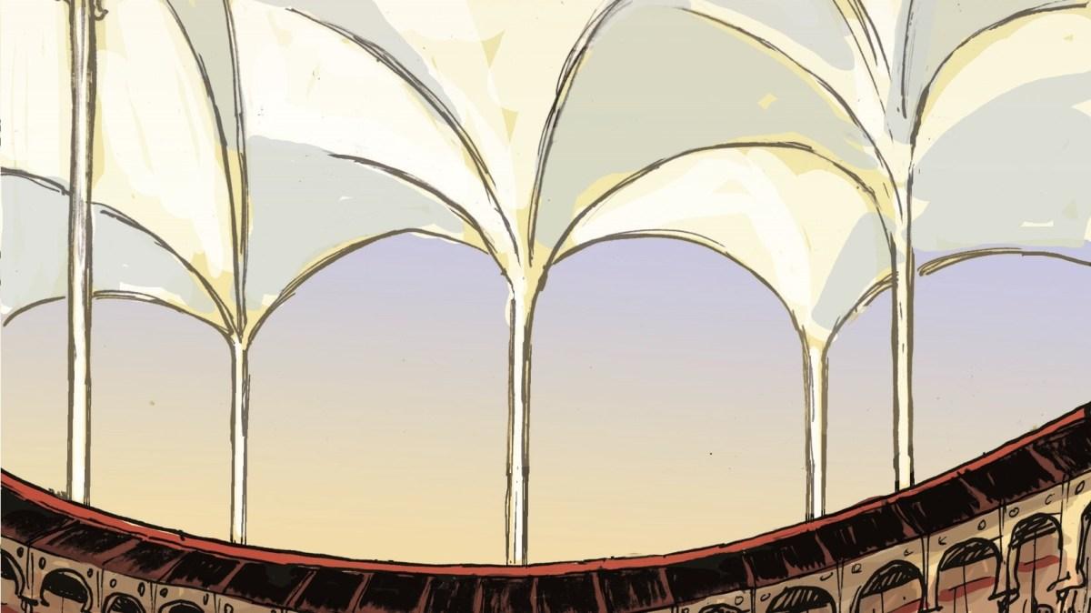 Segunda Vez, telheiro de vidro