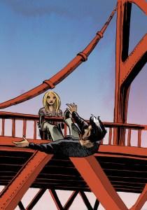 Fernão cai da ponte sob o olhar de Elda