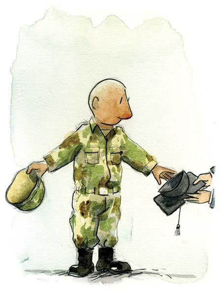 Un recuento de la transferencia de facultades a las fuerzas armadas
