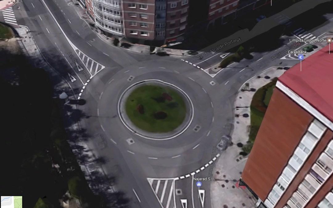 Denunciados los ayuntamientos de Vigo y Algeciras por ilegalidades de alto riesgo vial en sus glorietas.