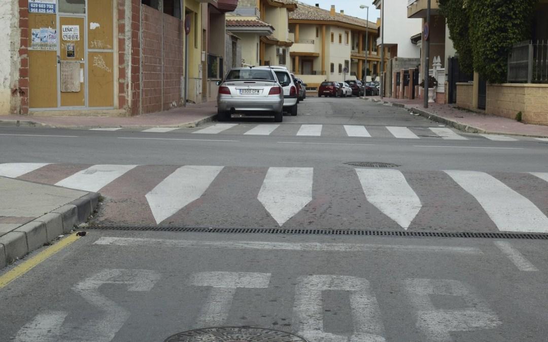 Denunciado. Torres de Cotillas en Murcia instala obstáculos de alto riesgo en sus calles.