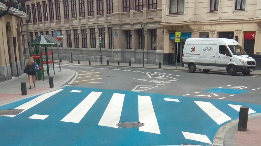 Bilbao desobedece el Reglamento General de Circulación