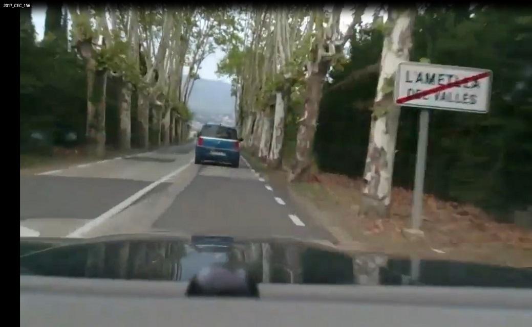 Denunciada Diputación Barcelona por el estado carretera BP1432
