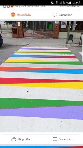 Denunciados pasos para peatones en Cornellá de Llobregat