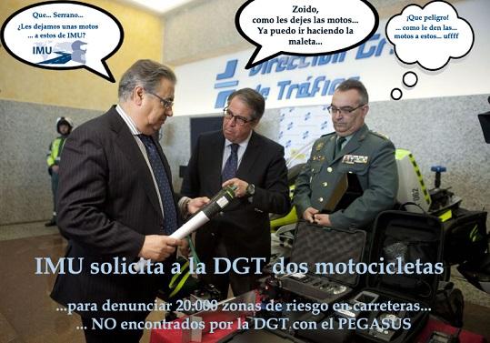 Pedidas dos motos a la DGT para hacer su trabajo… Gracias DGT, las esperamos…