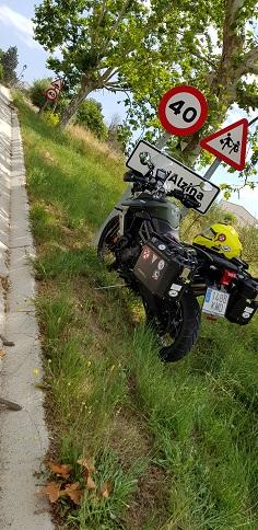 Cambiadas señales de N`Alzina (Barcelona)