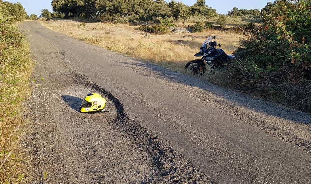 Denunciada la carretera de Badilla a Argañin.