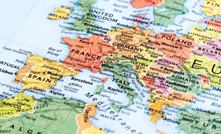 amex seguro viagem europa mapa