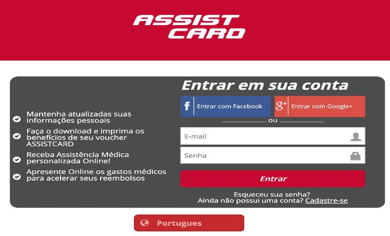 my assist card site