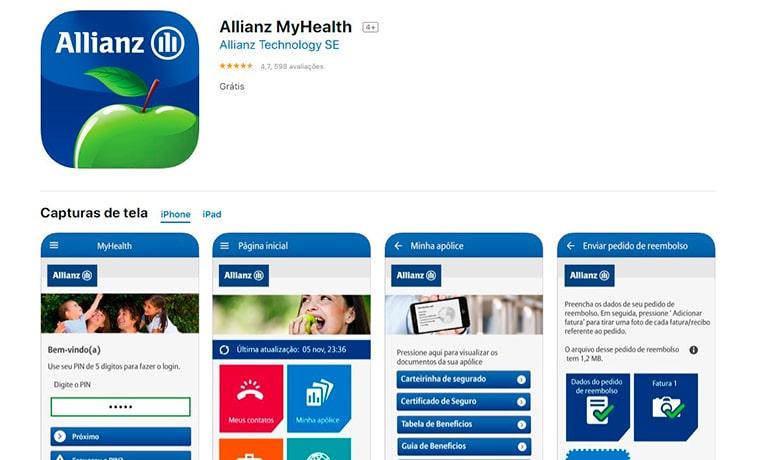 app My Health Allianz