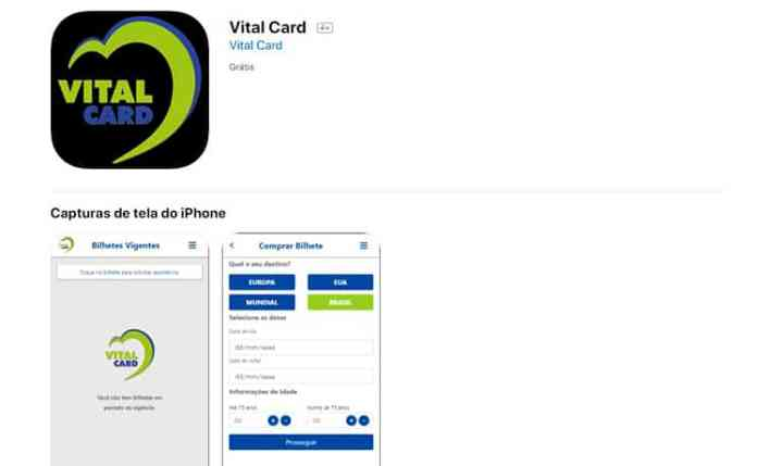 app Vital Card