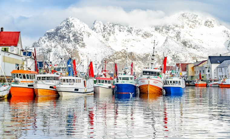 seguro viagem Noruega barcos