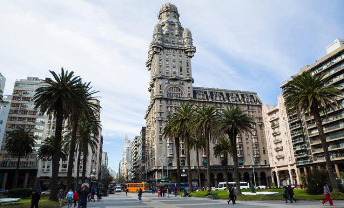 seguro viagem Uruguai prédio