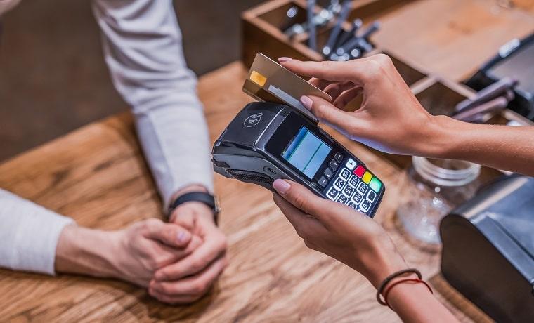 compra da passagem no cartão de crédito