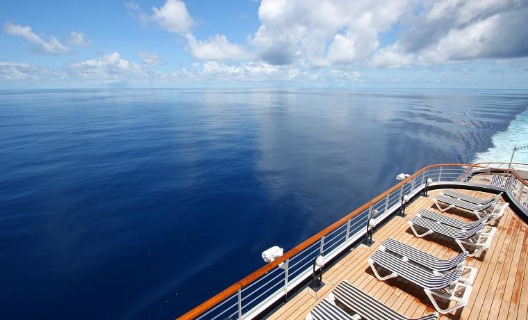 proteção para cruzeiro no mar