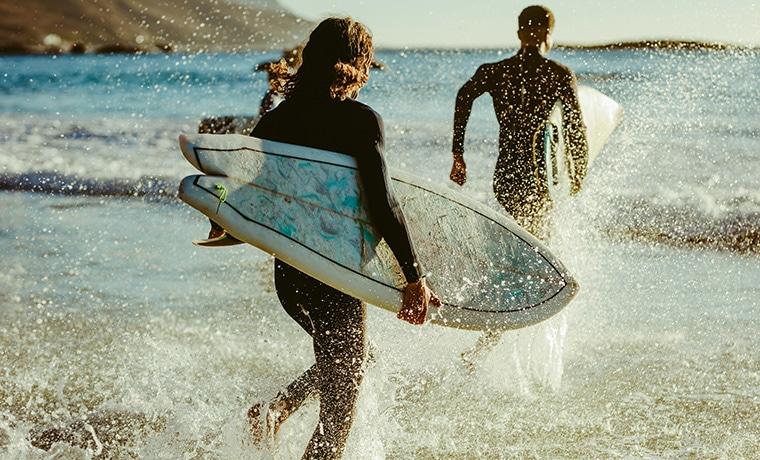 Seguro viagem surf surfistas