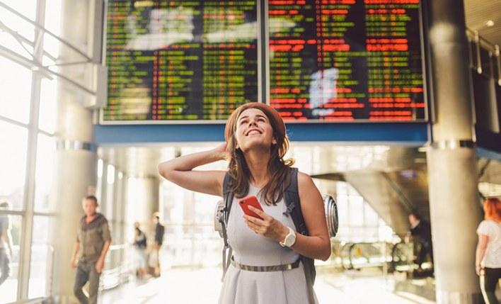 Site assistente de viagem aeroporto