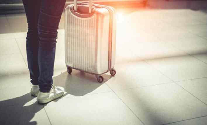 estender seguro viagem mala
