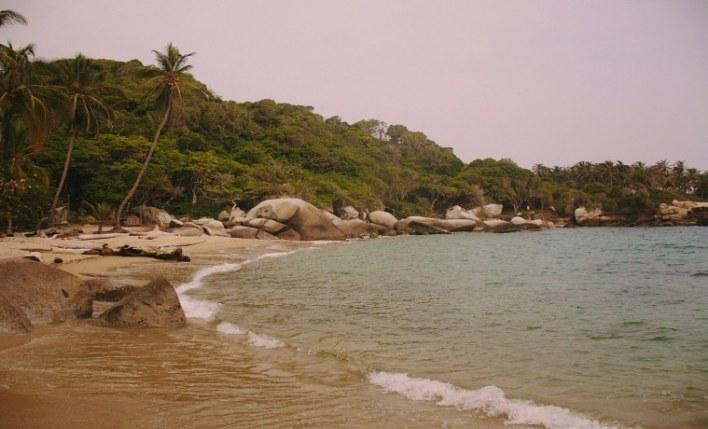 Praia seguro viagem Colômbia