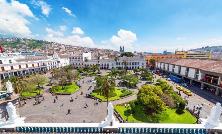 Quito seguro viagem Equador