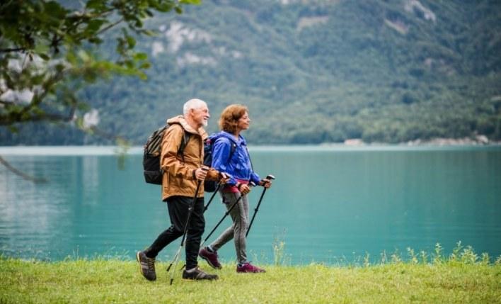 Viajantes idosos