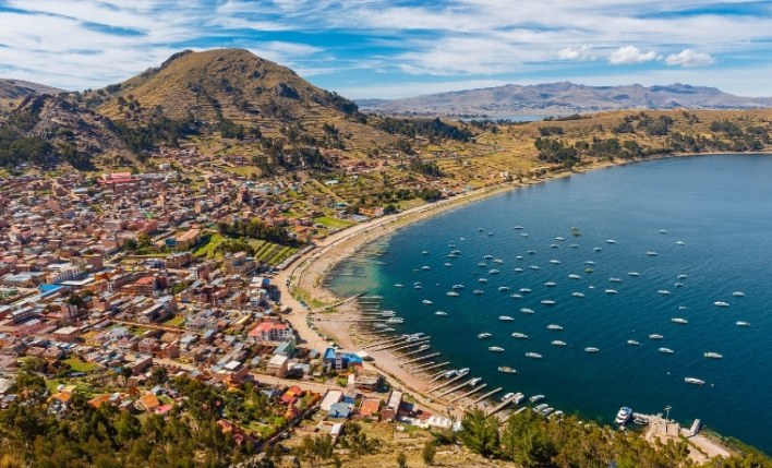 Vista seguro viagem Bolívia