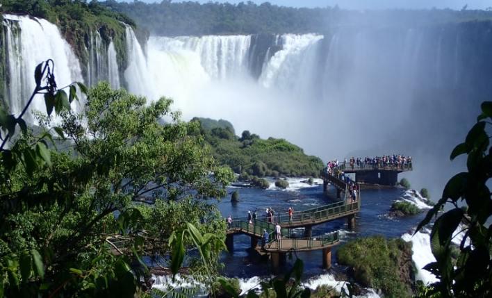 Cataratas com seguro viagem Brasil