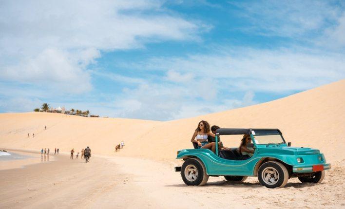 Seguro viagem Brasil nas dunas