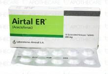 Airtal ER Tab 200mg 10's