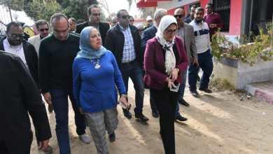 "Photo of وزيرة الصحة تتفقد أعمال تطوير وحدة صحة ""حاجر الرزيقات"" بحري بالاقصر"