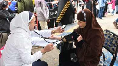 Photo of وزيرة الصحة تطلق قافلة علاجية شاملة كافة التخصصات الطبية لأهالي عزبة الهجانة بالمجان