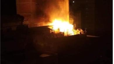Photo of عاجل …حريق يلتهم مخزنًا بمستشفى دار الشفاء في العباسية