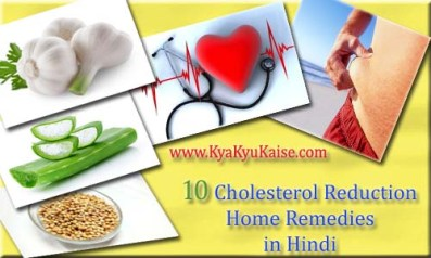 Cholesterol Kam Karne ke Upay, How to Reduce High Cholesterol in Hindi
