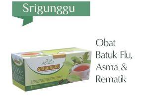Teh Srigunggu Mengobati Batuk Flu & Asma