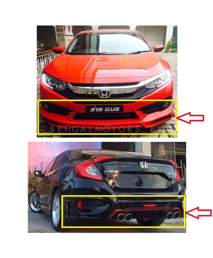 97 Honda Civic Body Kits : honda, civic, Honda, Civic, Kantara, Plastic, Bodykits, China, Model, 2016-2021