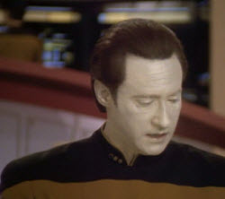 commander data from star trek