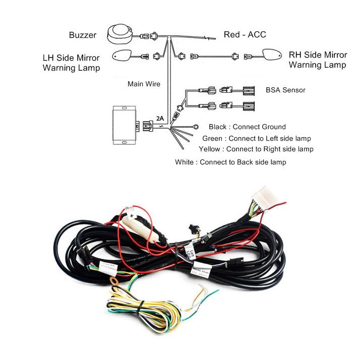 KABIS BSA (Blind Spot Assist) Sensor ADAS (Hyundai, KIA